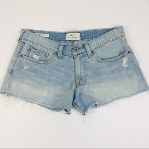 Lucky Brand Distressed Cut Off Denim Shorts